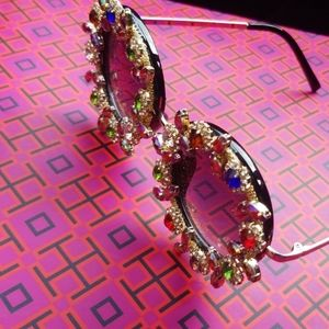 Custom Embellished Jeweled Sun Glasses